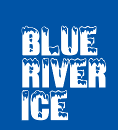 blue river ice logo